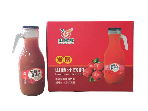 发酵山楂汁